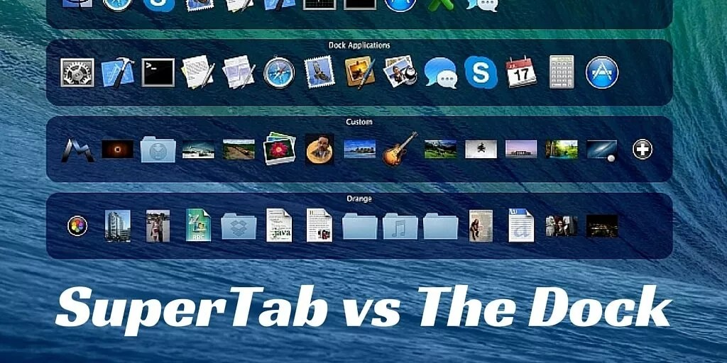 SuperTab 2.0 vs the Dock for Mac Automators and Power Users