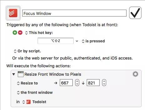 Keyboard Maestro resize window