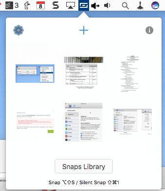 Snappy_menu_access