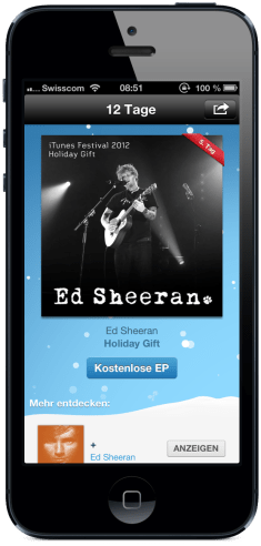Tag 5 - Ed Sheeran Holiday Gift