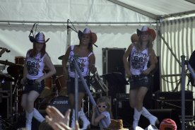 Country Musik mit den Rodeo Girls