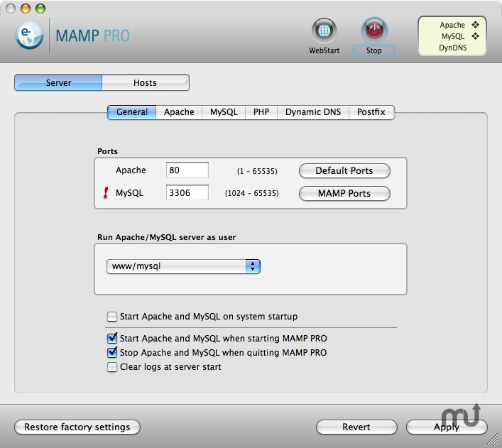 MAMP Pro 2 0 5 – Create a local server environment for web
