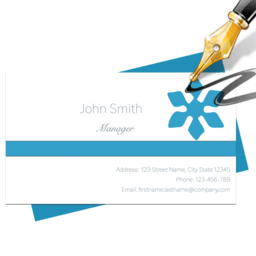 Blue Penguin Business Card Designer 2.60.1
