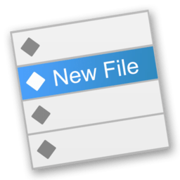 New File Menu 1.3.1