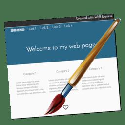 Wolf Landing Page Designer 1.36