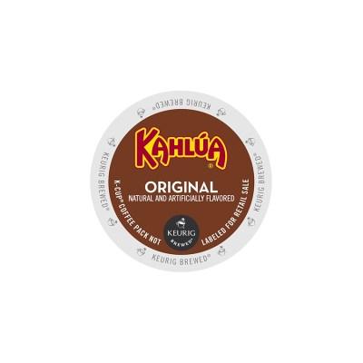 Kahlua light roast flavored k-cups