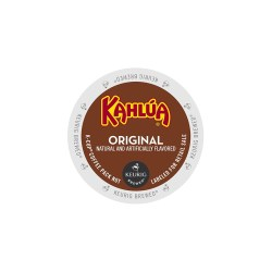 Kahlua light roast flavored k-cups