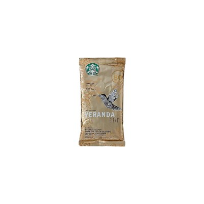 Starbucks Veranda Ground Coffee Portion Packets