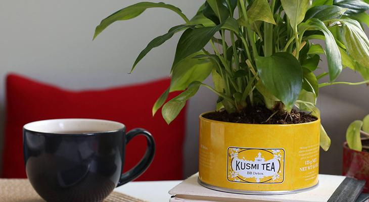 How To Up-cycle Your Kusmi Tea Tins