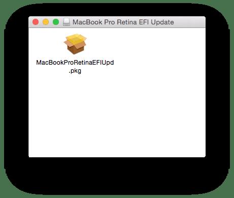 macbook firmware retina 2013