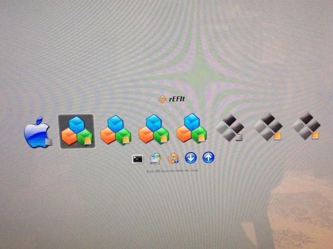 Dual boot Mac OS X El Capitan ubuntu demarrer sur la cle