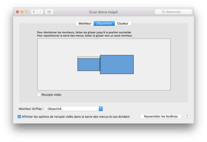 connexion macbook television sans recopie video