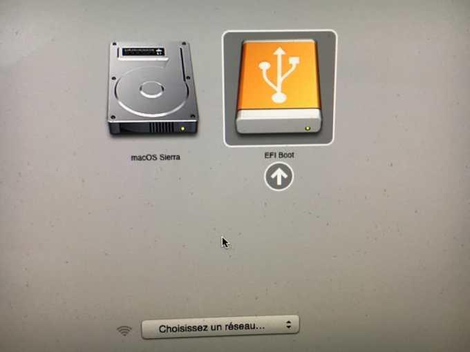 Essayer Linux sur Mac cle usb de demarrage