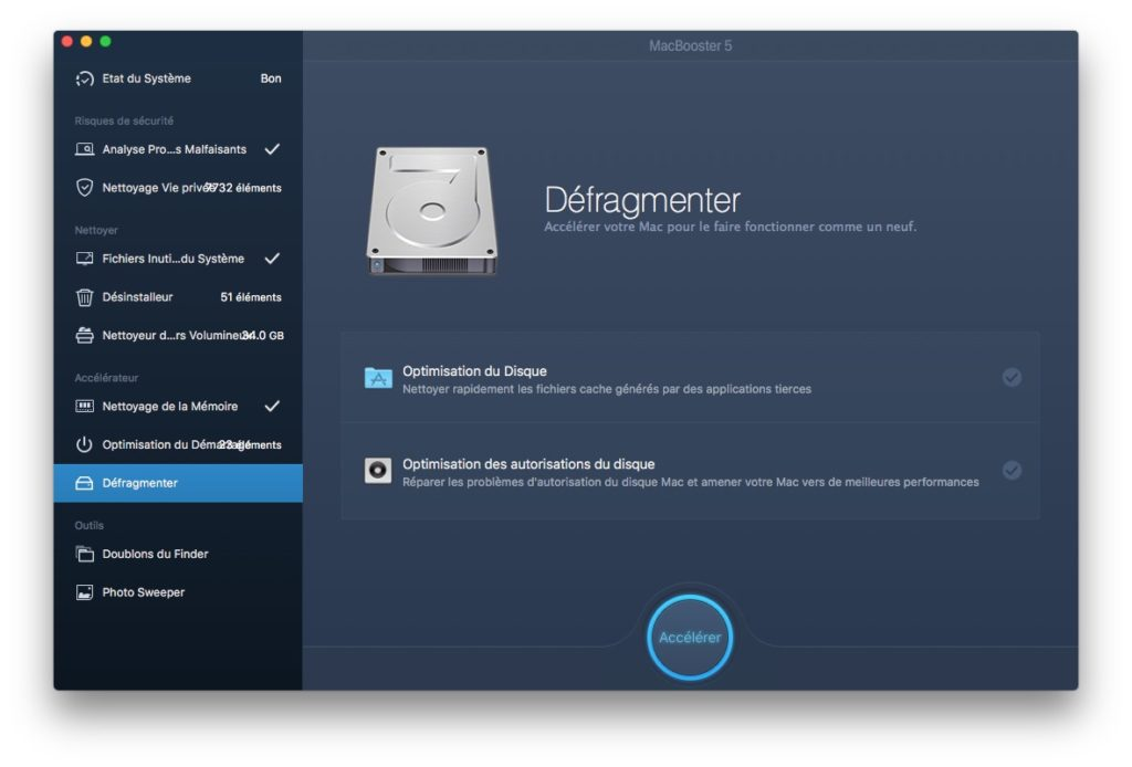 macbook lent defragmenter