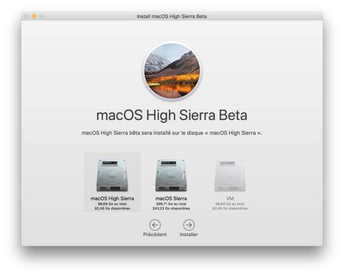 Installation macOS High Sierra dual boot