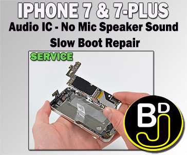 audio ic repair service
