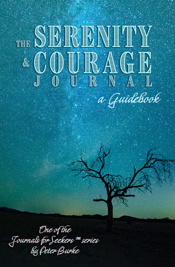 Journals for Seekers Serenity and Courage book cover