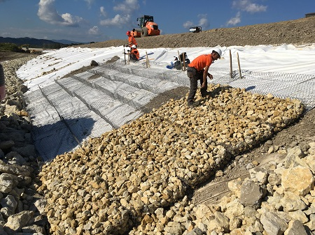 A Staff Training Session Was Provided By Maccaferri S Project Engineers On The Installation Of Reno Mattresses In Brežice Slovenia Late September