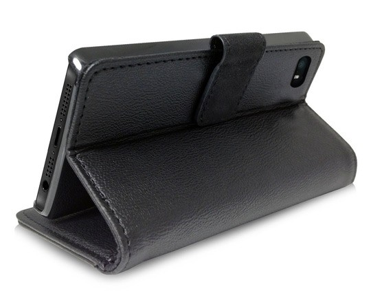 iPhone 5 Orzly Wallet Case Cover Portafogli - Stand