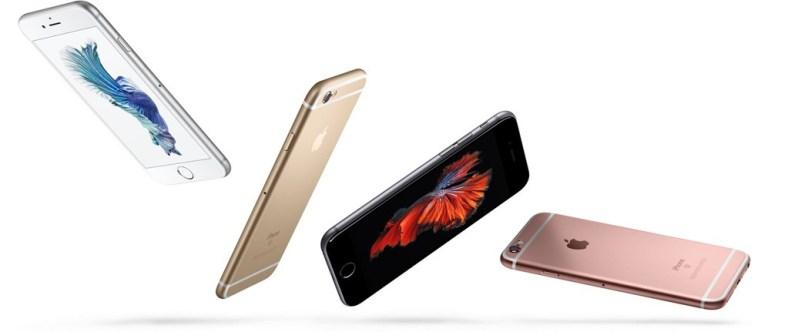 iPhone 6S Argento, Oro, Grigio siderale ed Oro rosa