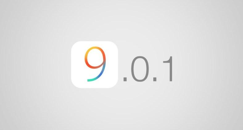Aggiornamento iOS 9.0.1