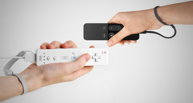 Wiimote e Apple TV Remote
