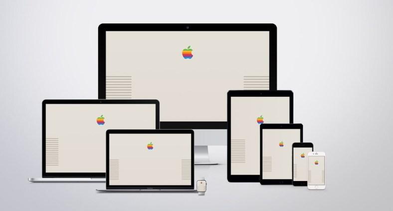 Apple Macintosh Retro Wallpaper - Gli sfondi per computer, iPhone e iPad ispirati ai vecchi computer Mac