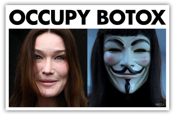 Occupy Botox