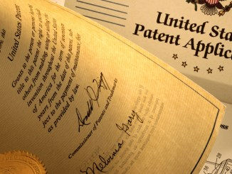 US patent application