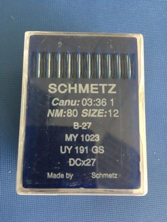 schmetz B-27-nm 80 size 12