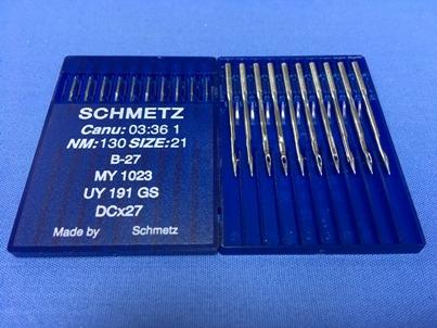 Confezione da 10 aghi Schmetz B27 nm 130 21