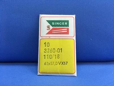 Confezione da 10 aghi Singer 62x57 110-18