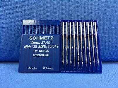 Confezione da 10 aghi Schmetz UY 133 GS Nm 125-20