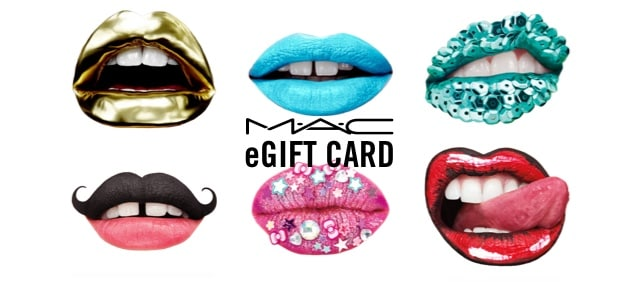 Gift Cards MAC Cosmetics Canada Official Site