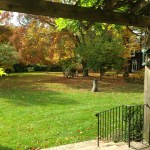 Fall Gardens of Macculloch Hall Historical Museum, Morristown, New Jersey