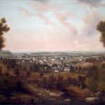 A View of Morristown from Fort Nonsense - Kranich Macculloch Hall Fine Arts Collection