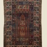 Macculloch Hall Historical Museum Carpet Collections: Gordes-Style Prayer Rug