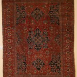 Star Ushak Carpet, Macculloch Hall Carpet Collection