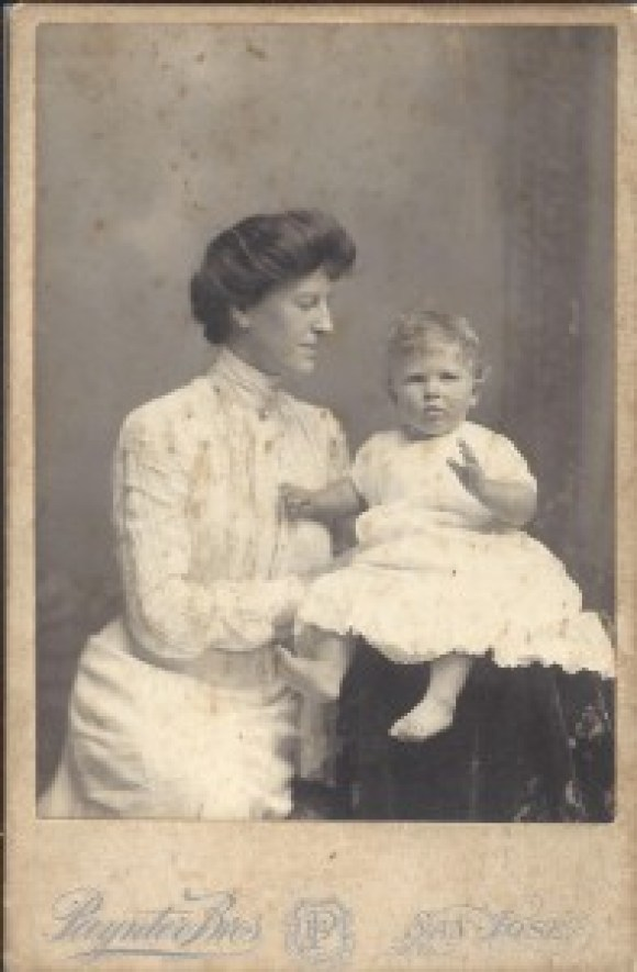 Are Women People? wrote Alice Duer Miller pictured here with son Demming