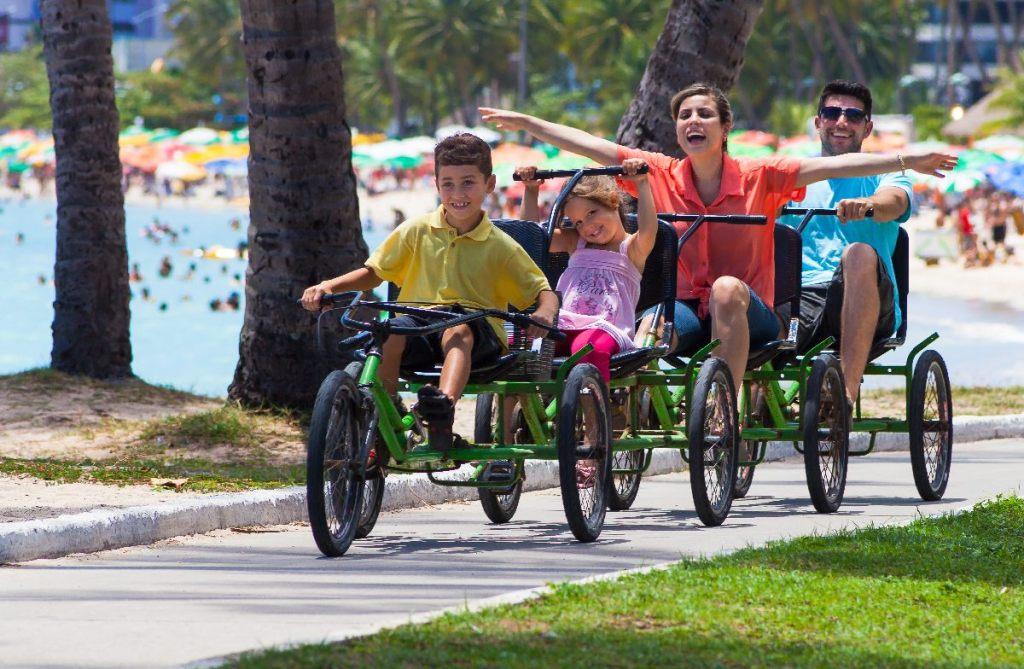 maceó pedalando