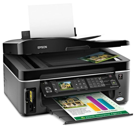Epson WorkForce 610 Printer Driver for PC