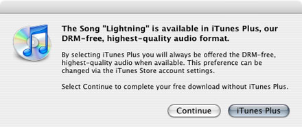 Apple releases first DRM-free