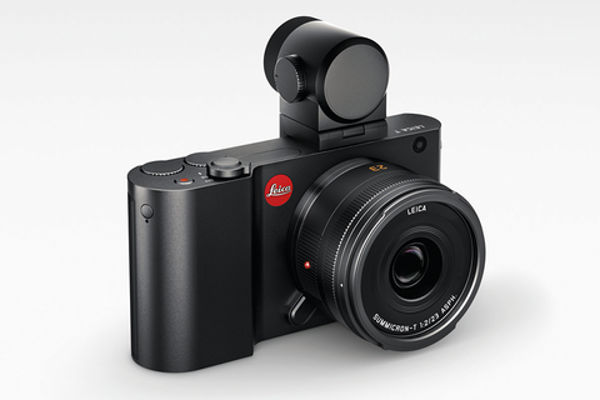 The new Visoflex electronic viewfinder has 2.4 MP and incorporates a GPS transponder. It is said to be exclusive to Leica, unlike the current EVF2 which is a rebadged Olympus finder