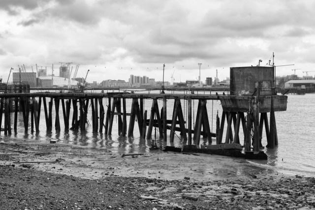 Abandon wharf, all ye who enter here. Photo Mike Evans