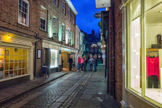 Night scene in York, ISO 6400