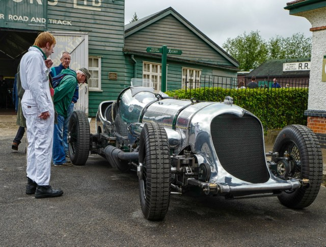 Napier-Railton at Brooklands