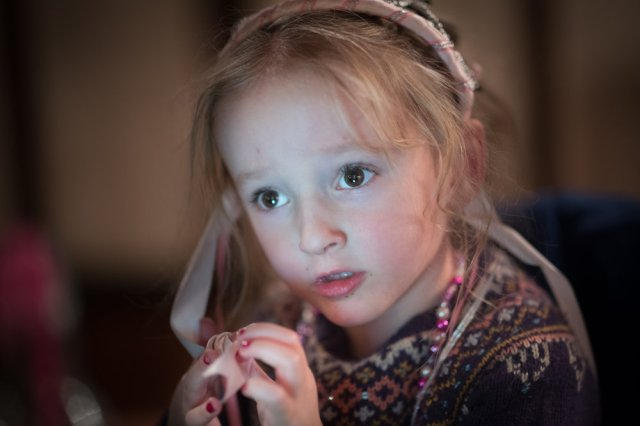 Concerned Princess- Leica M10 with 75mm Summilux M 1/90th ISO 3200
