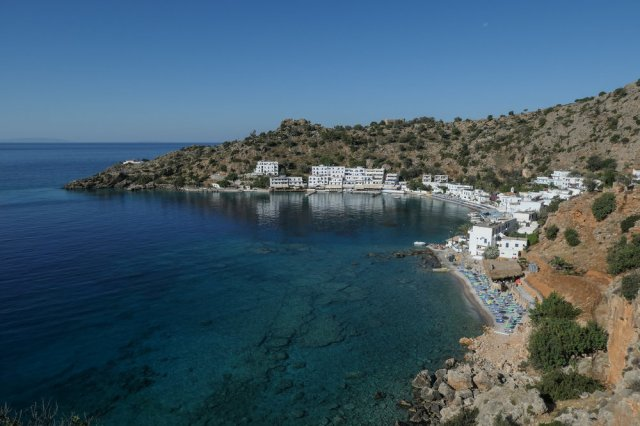 Loutro from above (ISO 125 1/800th f7.1 24mm Leica C-Lux)