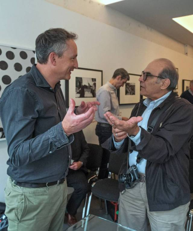 Jason Heward and TLS honorary president, David Suchet OBE