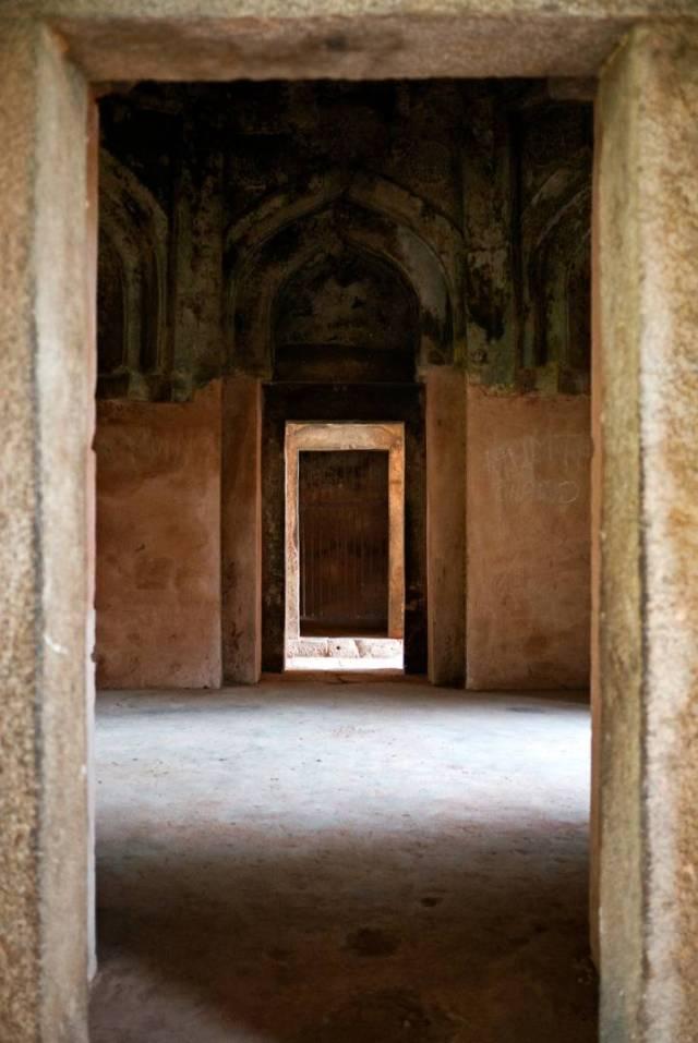 The madarsa in the Hauz Khas complex was built by Sultan Firoz Shah Tughlaq in the 14th century.